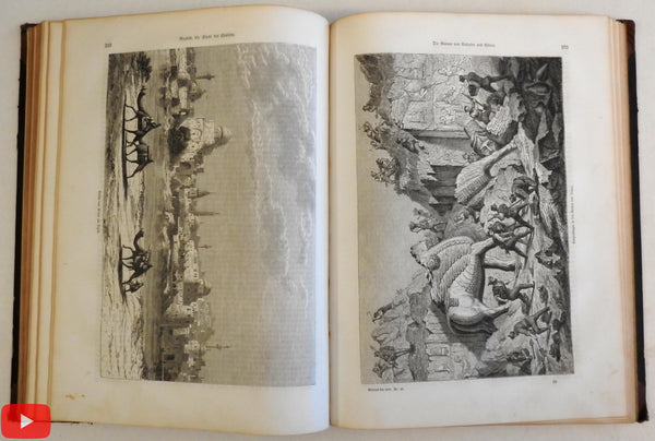 Geography Ethnography peoples lands views 1862 Globus illustrated periodical