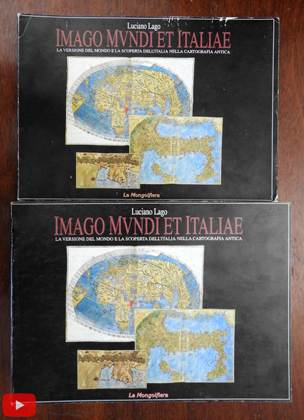 Italy Italia Imago Mundi 1994 scholarly reference set 2 vols illustrated cartography