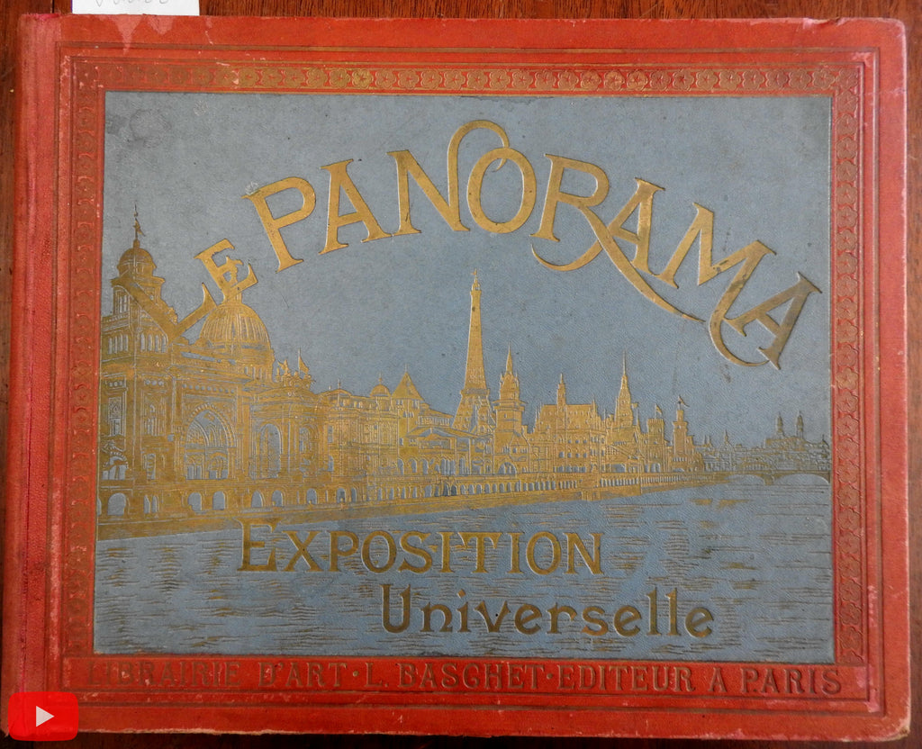 Paris Exposition Universelle 1900 Panorama view book great images rare book