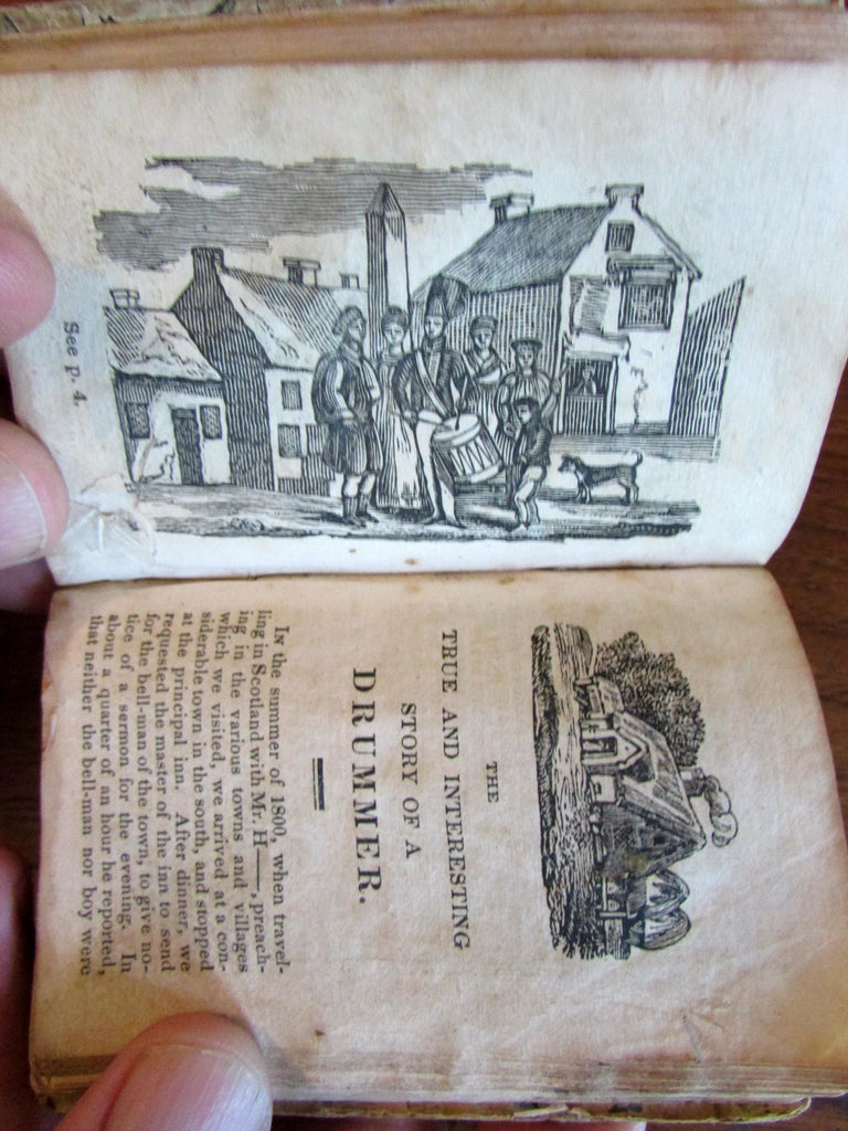 Chapbooks c.1835 collection of 16 woodcut illustrated Military Bread Slavery