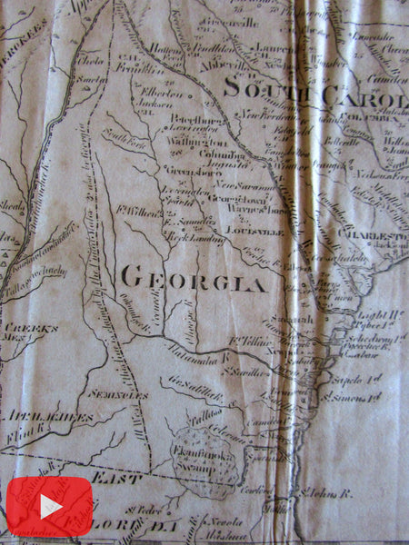 Southern United States 1797 Mississippi Georgia Territory 1804 A. Bradley