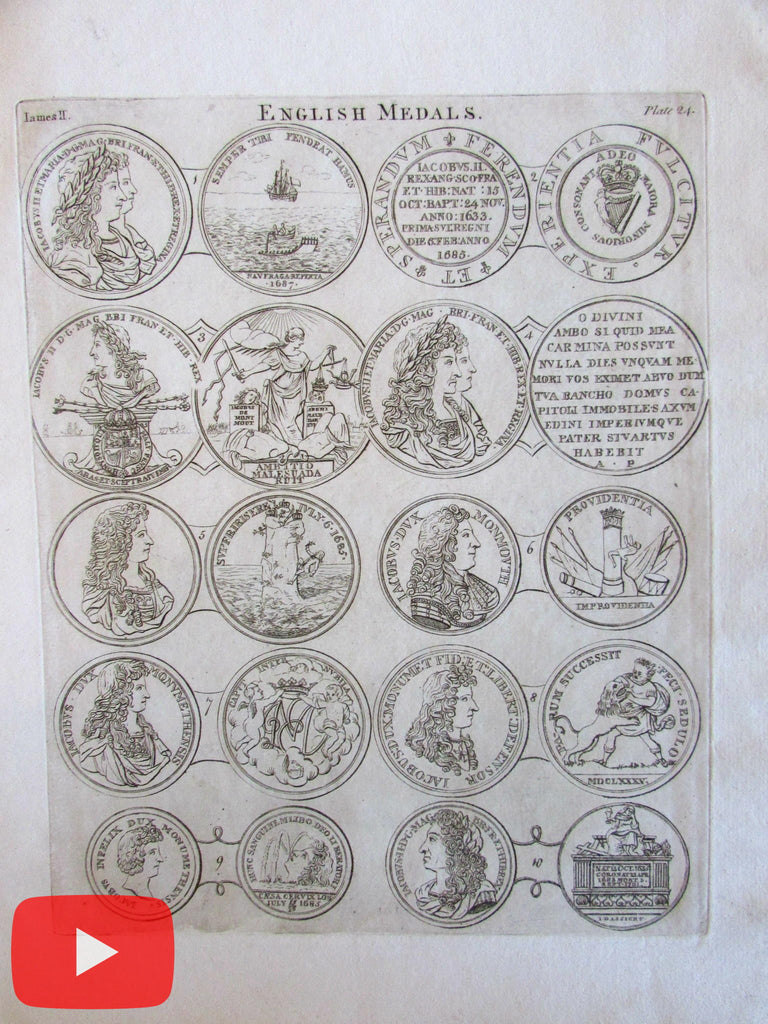 Thomas Snelling 1776 English Medals 33 large engraved plates complete