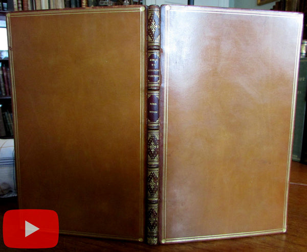 Lord Byron 1816 Seige of Corinth Parisina 1st Edition A+ leather binding
