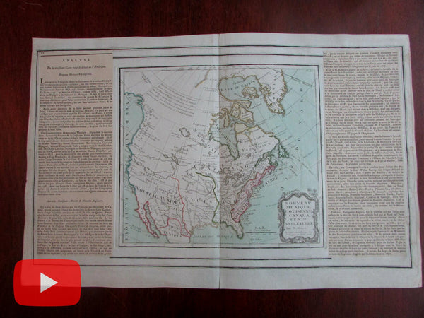 United States North America 1766 Bion River of West Quivira Admiral de Fuente