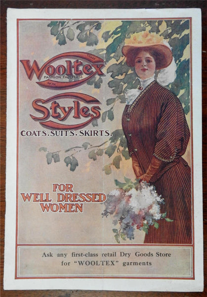 High Women's fashion catalogue Wooltex Style 1906 H. Black Company advertising