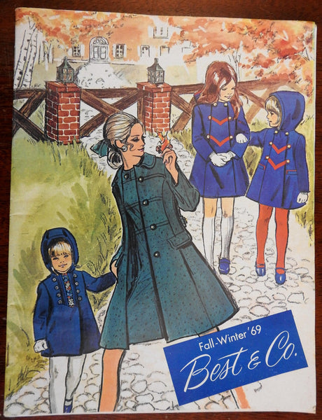 Best & Co. Fall-Winter 1969 Fashion Catalogue illustrated advertising