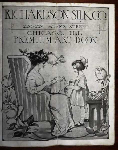 Richardson Silk Company Premium Catalogue c. 1910 illustrated catalogue