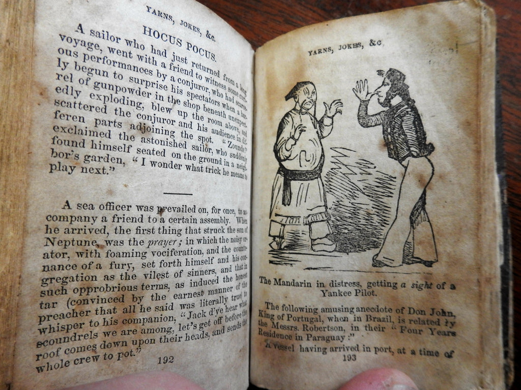 Jack's Kit Saturday Night in the Forecastle 1840's nautical humor & song book