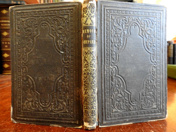 Oregon Missionary Teacher: Memoir of Cyrus Shephard 1851 Z.A. Mudge rare book