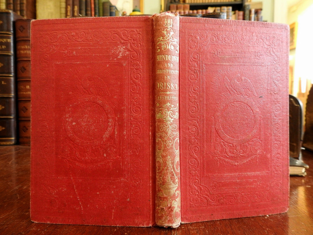 Hinduism Christianity in Orissa Odisha India 1853 Missionary Work illustrated bk
