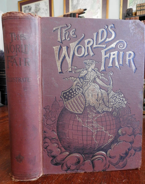 Chicago World's Fair 1892-3 H.G. Cutler profusely illustrated monumental book
