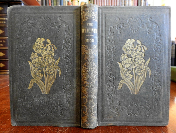 The Hyacinth or Affection's Gift 1847 Henry Anners Literature Poetry Collection