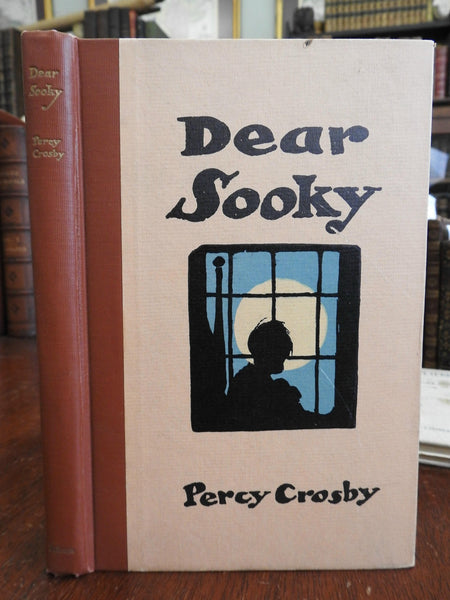 Dear Sooky 1929 Percy Crosby author inscribed illustrated children's book