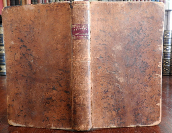 Discourses Credibility Scripture Christianity 1795 Bennet NJ book Religion