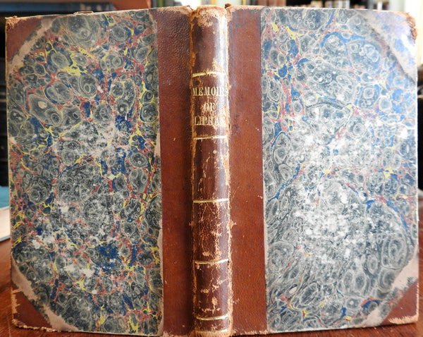 Memoirs and Remains of John Oliphant 1835 Rev. J. Hopkins old leather book