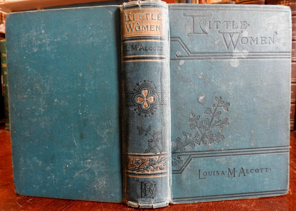Little Women 1899 Louisa May Alcott classic American lit lovely old book