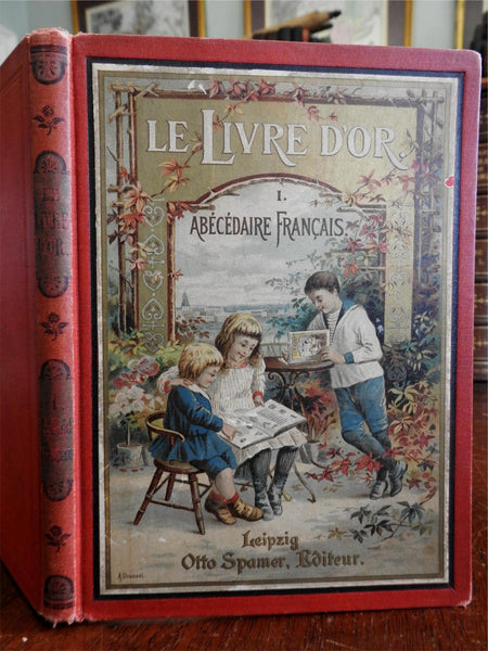 Le Livre D'Or c. 1890's L. Bouc Children's French language text book