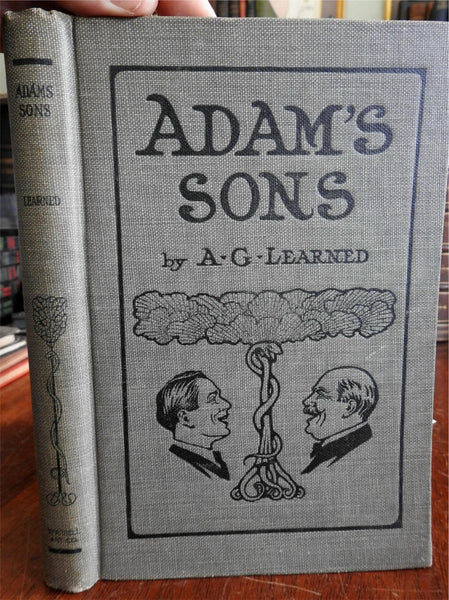 Adam's Sons 1906 A.G. Learner w/ long letter from artist beautiful book