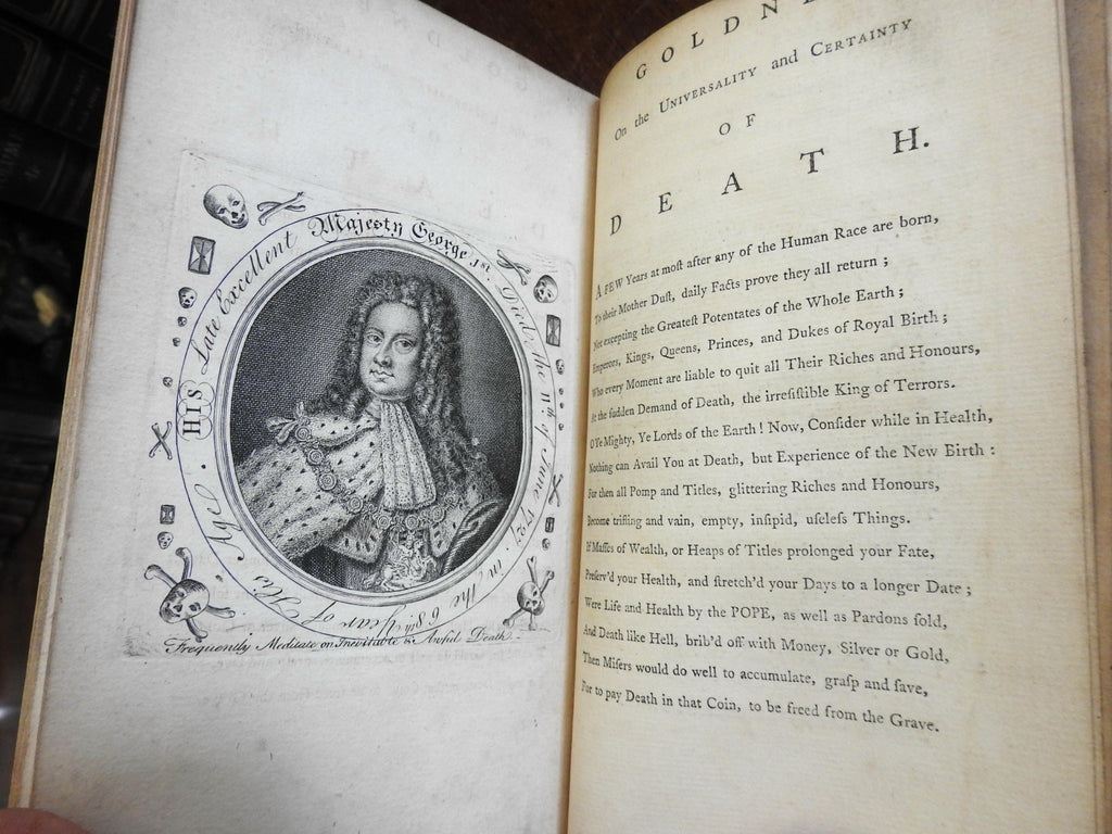 Divine Recipes for Mankind Church of England Methodism 1761 Edward Goldney book