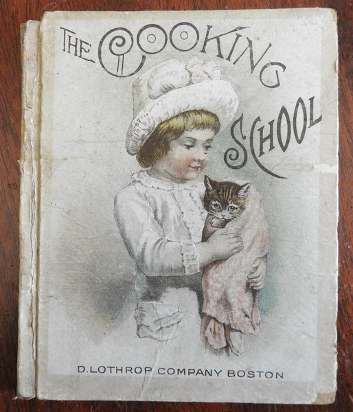 The Cooking School & Other Stories 1880 Emma E. Brown illustrated child's book