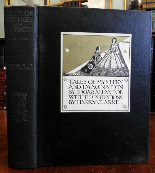Harry Clarke illustrations Tales of Mystery and Imagination 1933 Edgar Allan Poe
