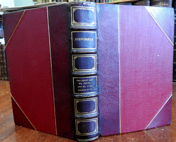 Dr. Jekyll & Mr. Hyde Merry Men Prince Otto 1920 Robert Louis Stevenson old book