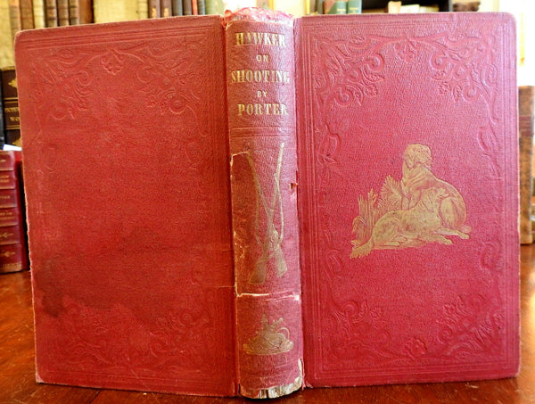 Young Sportsmen Instructions 1853 Hunting Shooting No. America Illustrated Guide