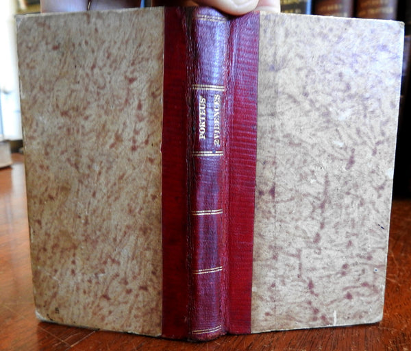 Truth Divine Origin Christian Revelation w/ Islam 1811 Bielby Porteus rare book