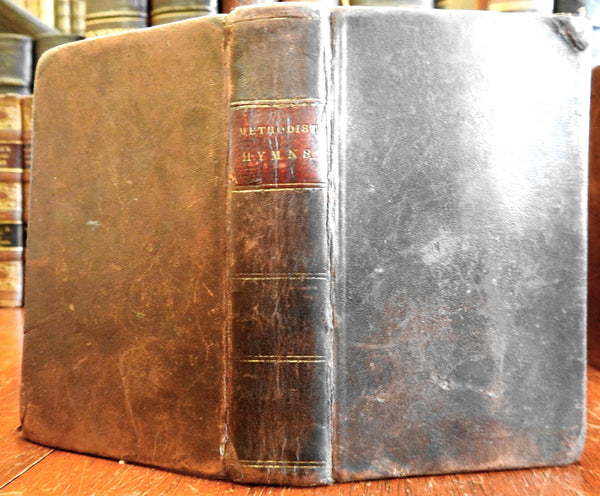 Collection of Methodist Episcopal Church Hymns 1842 Wesley pocket hymnal book