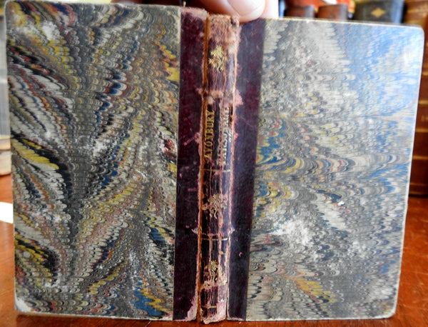 Conversations at Avonbury Parsonage 1834 scarce old leather book