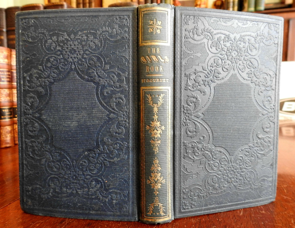 The Girl's Book 1849 L.H. Sigourney Rowland illustrated book for children