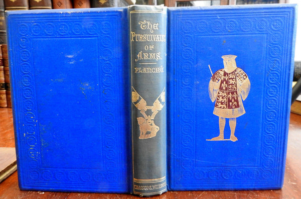 Pursuivant of Arms Heraldry Founded Upon Facts 1873 J.R. Planche old book