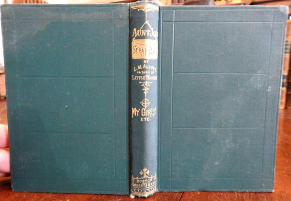 Aunt Jo's Scrap-Bag 1882 Louisa May Alcott short story collection old book