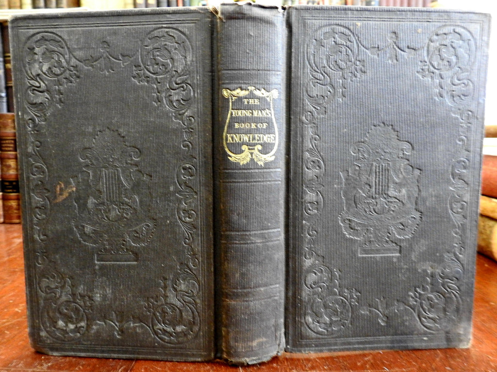 Young Man's Book of Knowledge c. 1830's Thomas Tegg encyclopedic collection