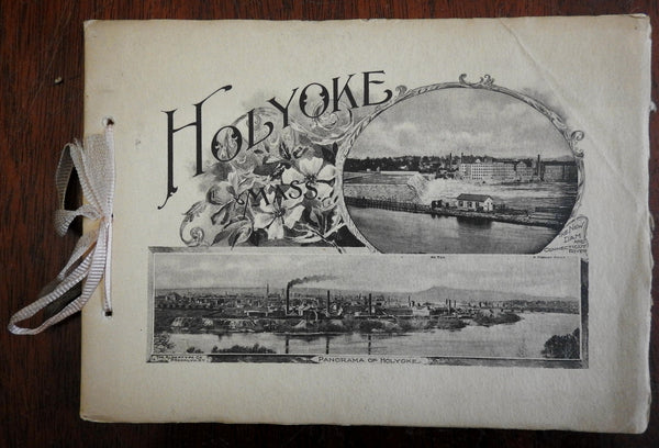 Holyoke Massachusetts 1904 New England Water Works Association photo album