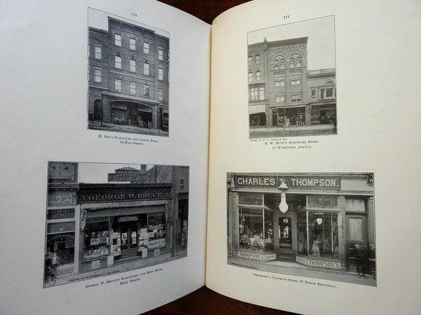 Yonkers New York Illustrated c. 1910 illustrated book photographic local history