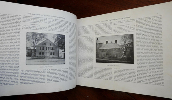 Montpelier Vermont Watchman 1893 illustrated souvenir edition local history