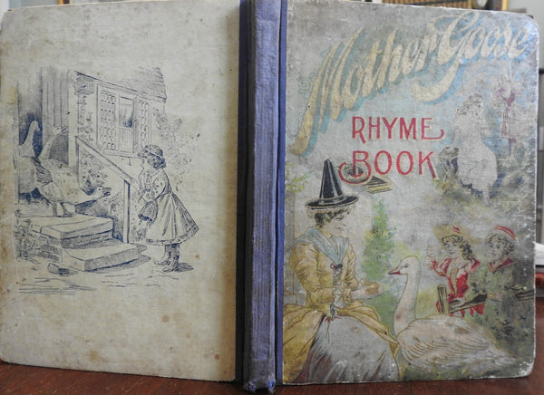Mother Goose: The Most Popular Nursery Jingles 1880s illustrated children's book