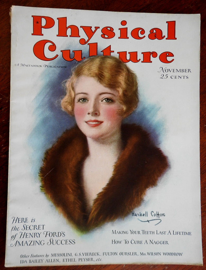 Body Physical Culture Magazine 1928 American Health self image illustrated