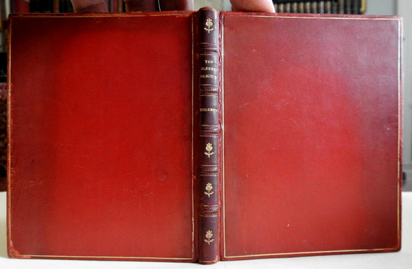 The Blessed Damozel c.1910 Dante Gabriel Rossetti decorative old leather book