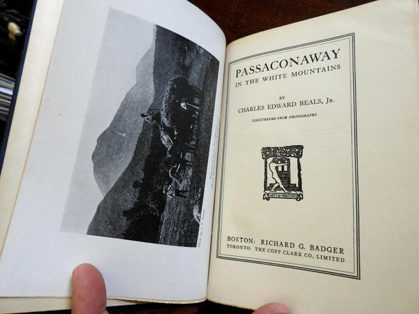 Passaconaway in NH White Mountains 1916 by Beals pictorial local history book