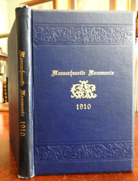 Massachusetts Monuments 1910 Alfred S. Roe Civil War Monuments illustrated book