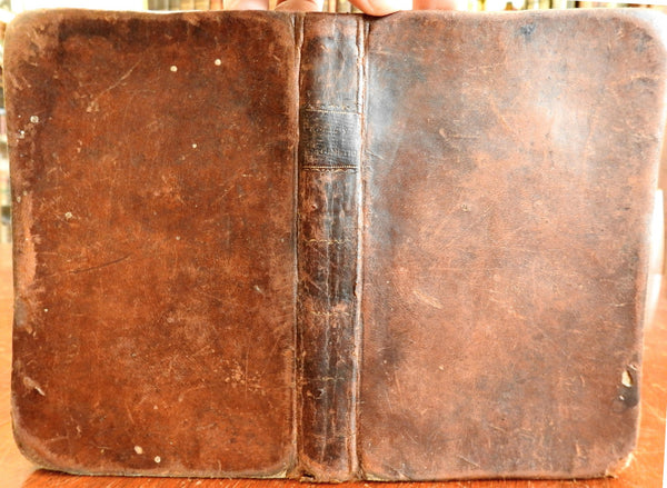 System Mercantile Arithmetic Math 1814 Newburyport Michael Walsh leather book