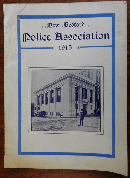 New Bedford Police Association 1915 Yearbook Americana Local History portraits