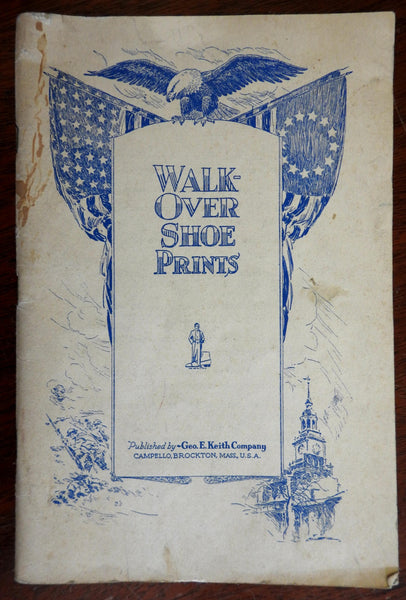 Walk-Over Shoe Prints 1932 illustrated trade magazine shoe making cobblers