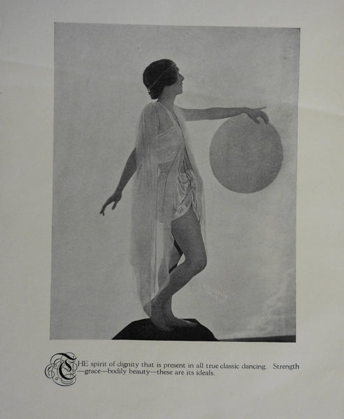 Sergei Marinoff Ballet Dance School 1924 Lessons manual w/ great photographs