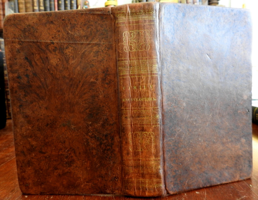 Family Encyclopedia America 1833 Goodrich all subjects Arts History medical etc