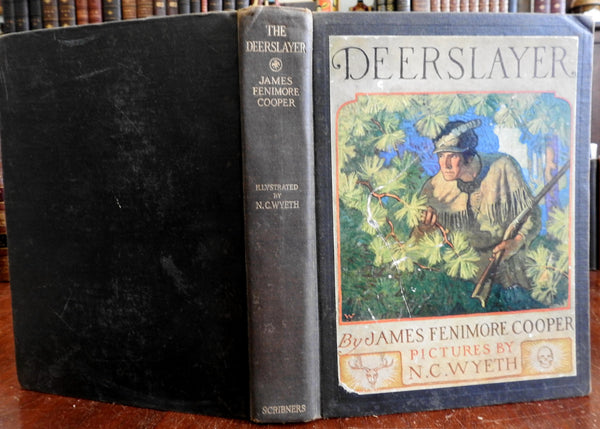 N.C. Wyeth The Deerslayer 1925 James Fenimore Cooper 1st ed. illustrated book