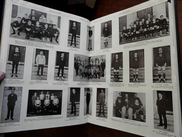 Choate Prep School Newspaper 1925-1926 complete 28 issue run illustrated book