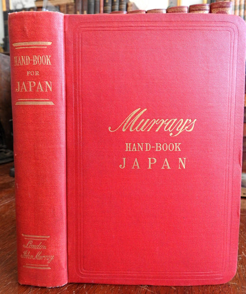 Japan Murray's Travel Guide Japanese Empire 1907 Asia illustrated book tourists